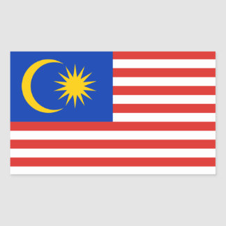 Malaysia/Malaysian/Malay Flag Sticker