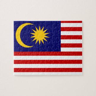 Malaysia National World Flag Jigsaw Puzzle