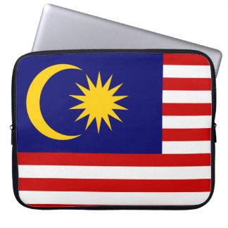 Malaysia National World Flag Laptop Sleeve