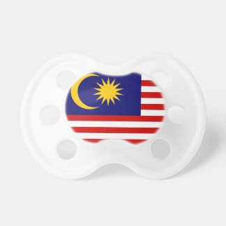 Malaysia National World Flag Pacifier