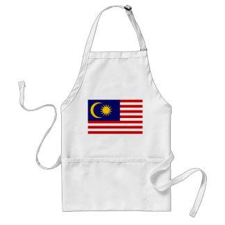 Malaysia National World Flag Standard Apron
