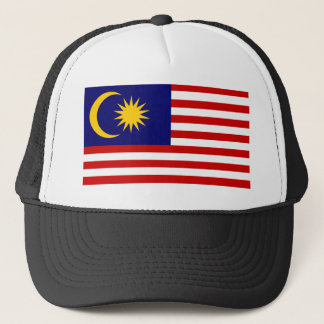 Malaysia National World Flag Trucker Hat