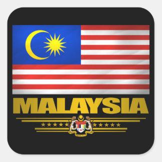 """""""Malaysia Pride"""" Square Sticker"""