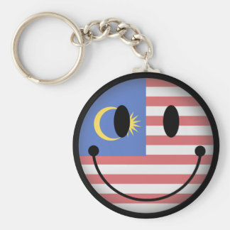 Malaysia Smiley Keychain