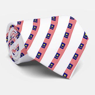 Malaysia stripes flag tie