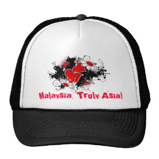 Malaysia, Truly Asia! Trucker Hats