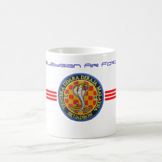 Malaysian air force patch. coffee mug