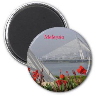 Malaysian Bridge Magnet