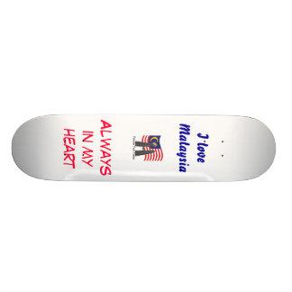 Malaysian skater skate board decks
