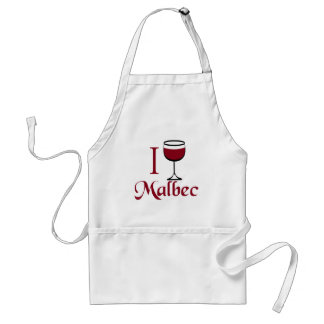 Malbec Wine Lover Gifts Standard Apron