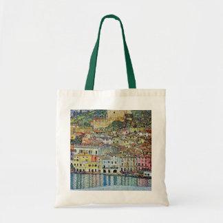 Malcesine on Lake Garda By Gustav Klimt Tote Bag