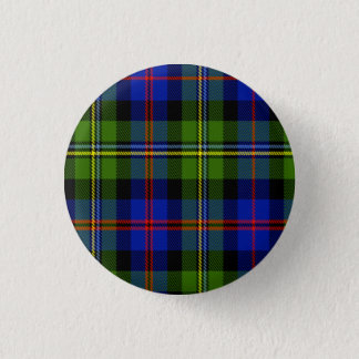 Malcolm Scottish Tartan 1 Inch Round Button