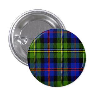 Malcolm Scottish Tartan 1 Inch Round Button