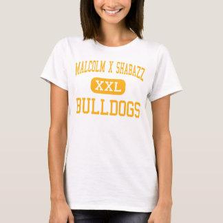 Malcolm X Shabazz - Bulldogs - High - Newark T-Shirt