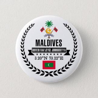 Maldives 2 Inch Round Button