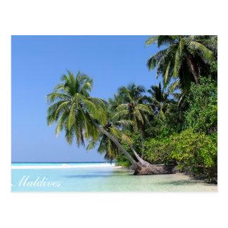 Maldives - Athuruga island postcard