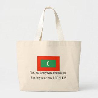 Maldives Canvas Bags