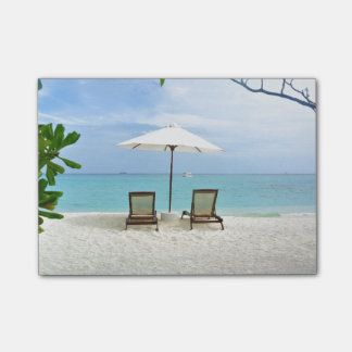 Maldives Beach Post-it Notes