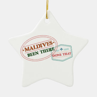 Maldives Been There Done That Ceramic Ornament