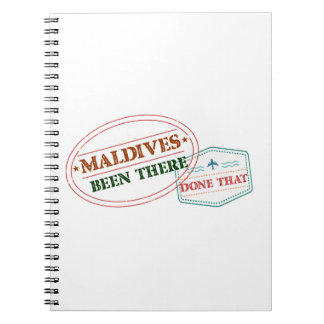Maldives Been There Done That Notebooks