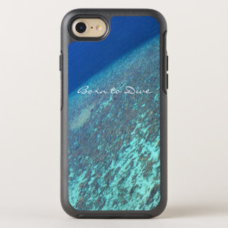 Maldives Born To Scuba Dive Blue Ocean Reef OtterBox Symmetry iPhone 7 Case