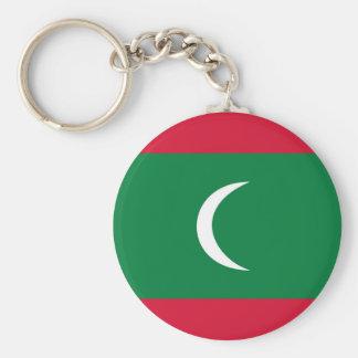 maldives country flag nation symbol keychain