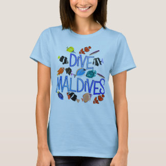Maldives Dive Tshirt