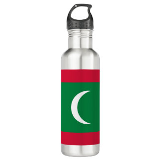 Maldives Flag 710 Ml Water Bottle