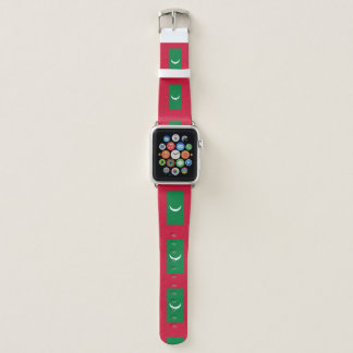 Maldives Flag Apple Watch Band
