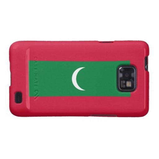 Maldives Flag Galaxy S2 Cover