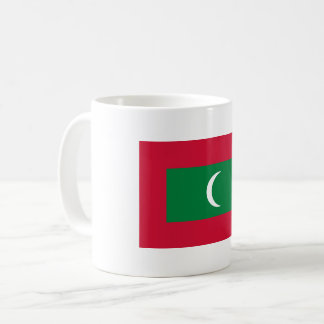 Maldives Flag Coffee Mug