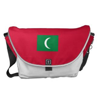 Maldives Flag Courier Bag