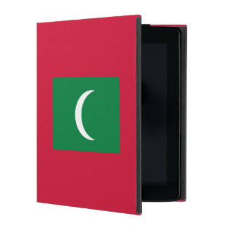 Maldives Flag Cover For iPad