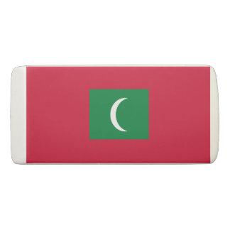 Maldives Flag Eraser
