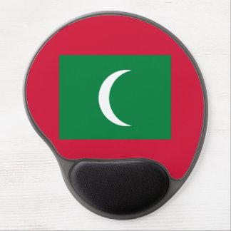 Maldives Flag Gel Mouse Pad
