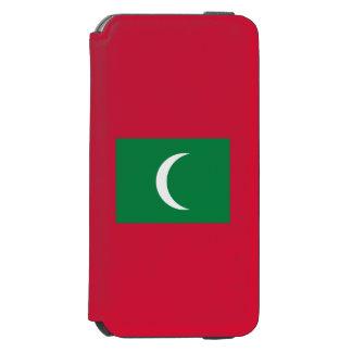 Maldives Flag Incipio Watson™ iPhone 6 Wallet Case