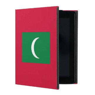 Maldives Flag iPad Folio Case