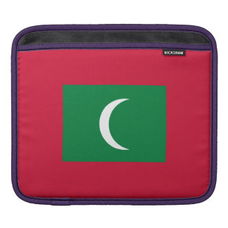 Maldives Flag iPad Sleeve