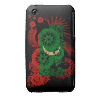 Maldives Flag iPhone 3 Cover