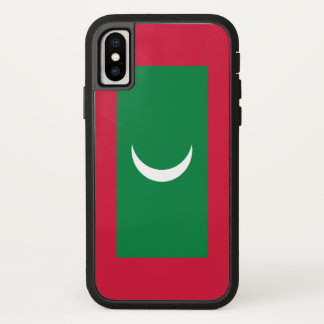 Maldives Flag iPhone X Case