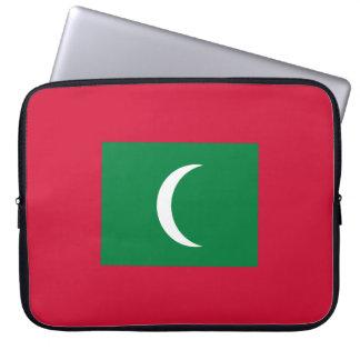 Maldives Flag Laptop Computer Sleeves