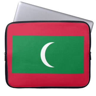 Maldives Flag Laptop Sleeve