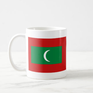 Maldives Flag ~ Map Mug