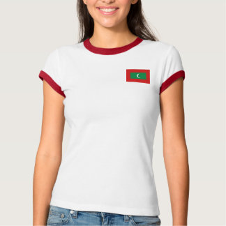 Maldives Flag + Map T-Shirt