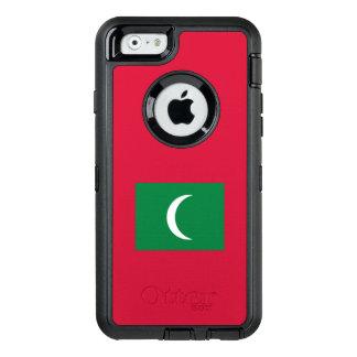 Maldives Flag OtterBox Defender iPhone Case