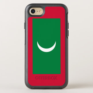 Maldives Flag OtterBox Symmetry iPhone 8/7 Case