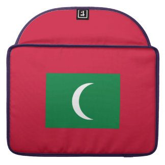 Maldives Flag Sleeves For MacBook Pro