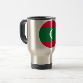 Maldives Flag Travel Mug