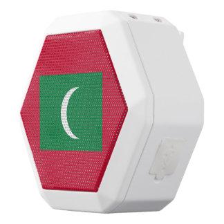 Maldives Flag White Bluetooth Speaker