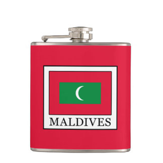 Maldives Hip Flask
